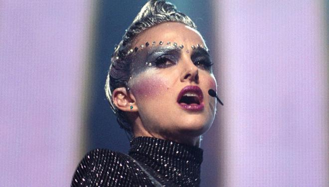 Natalie Portman is a sinister and sparkling popstar in Vox Lux