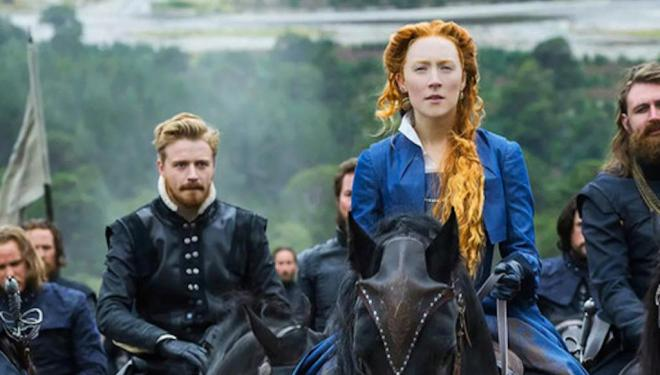 Saroise Ronan stars in Mary Queen of Scots