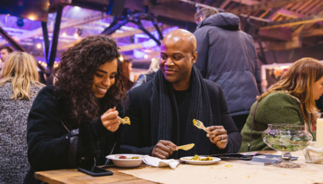 Taste of London 2018: The Festive Edition, Tobacco Dock