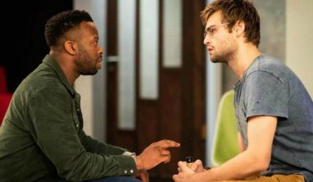 Clifford Samuel (Teddy) & Douglas Booth (Jeremy): A Guide for the Homesick. Photo by Helen Maybanks