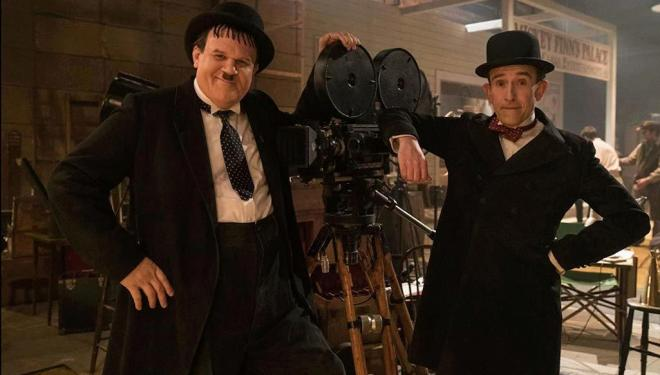 John C Reilly and Steve Coogan in Stan & Ollie