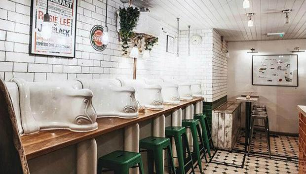 The Victorian toilet turned trendy coffee shop