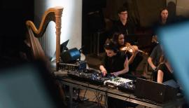 DJ Shiva Feshareki mixes Joy Division and Handel at Spitalfields Music Festival