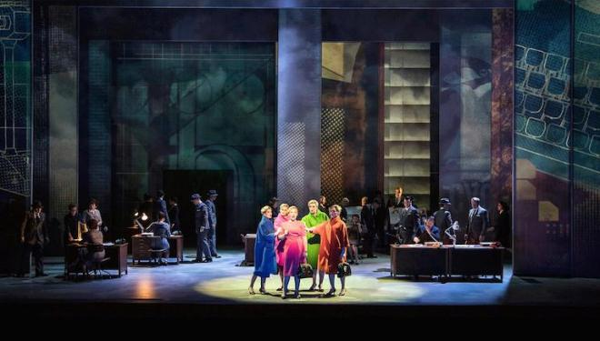 Nico Muhly's 'Marnie', premiered at English National Opera, is screened from the Met. Photo: Richard Hubert Smith