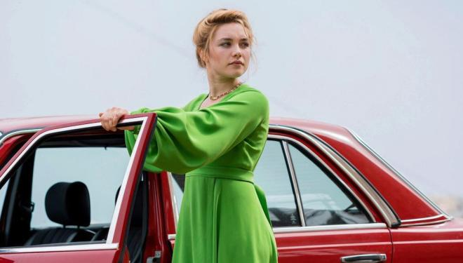 Florence Pugh in The Little Drummer Girl