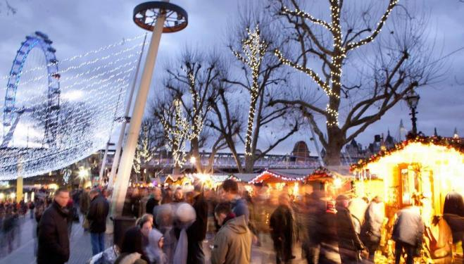 Make the most of South Bank this winter