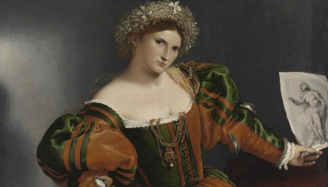 Lorenzo Lotto: Portraits that stare back