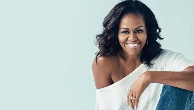 Michelle Obama at the Southbank Centre