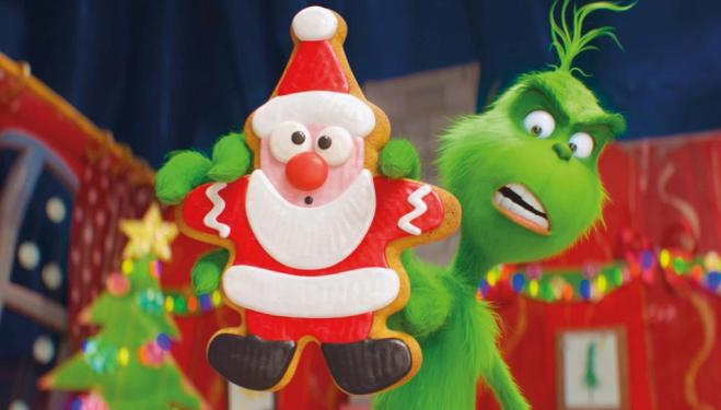 Benedict Cumberbatch triumphs as the Grinch