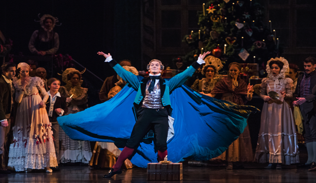 The Nutcracker, Gary Avis as Drosselmeyer (c) ROH 2015 Tristram Kenton