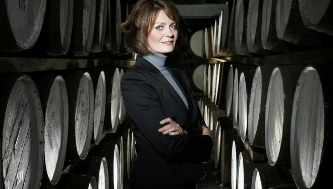 Craigellachie are rare in having a female Malt Master Stephanie Macleod.