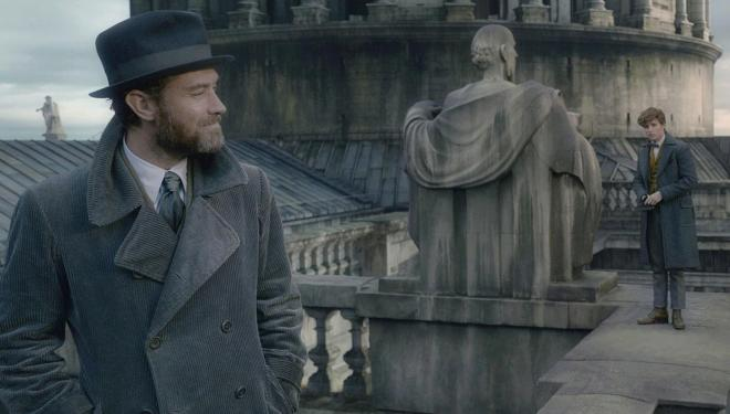 Jude Law joins the wizarding world in the Fantastic Beasts sequel