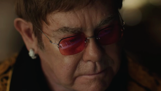 Elton John in John Lewis Xmas Advert