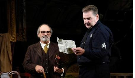David Suchet and Brendan Coyle in The Price. Photo by Nobby Clark