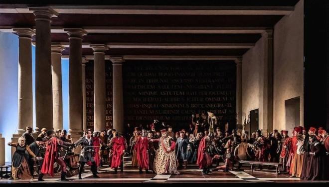 Simon Boccanegra review , Royal Opera House