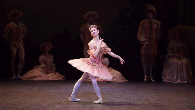 ENB Sleeping Beauty, Alina Cojucaru as Aurora, photo Laurent Liotardo