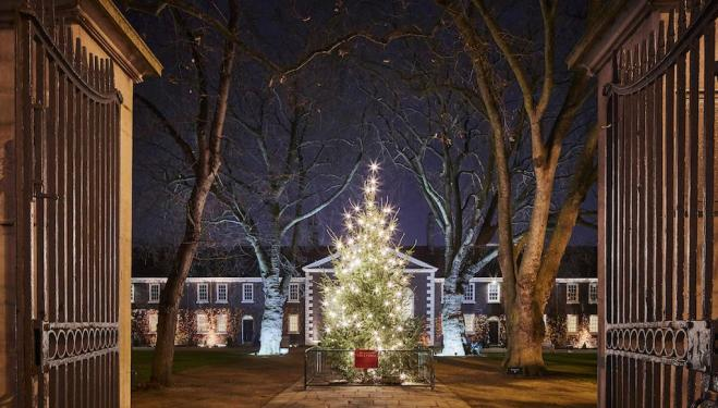 The Geffrye Museum's gorgeous Christmas market