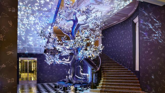 Diane von Furstenberg designs Claridge's Christmas Tree 2018