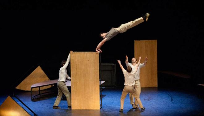 Don't miss inTarsi by circus troupe eia when they're back in the UK next year
