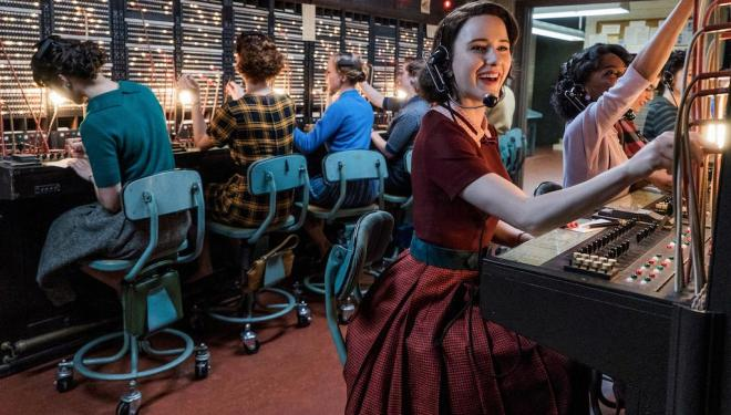 A colourful, cinematic comedy: Mrs Maisel