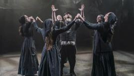 The company of Fiddler on the Roof, Menier Chocolate Factory