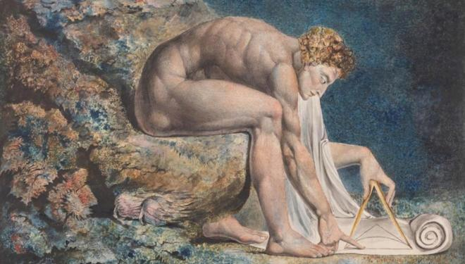 William Blake, Newton 1795–c.1805. Tate