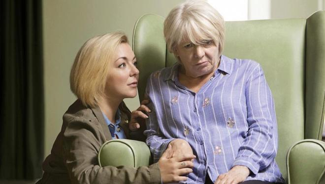 Sheridan Smith and Alison Steadman in Care, BBC