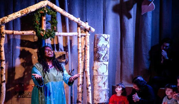 In the Winter Wood at Polka Theatre, photo by The Other Richard