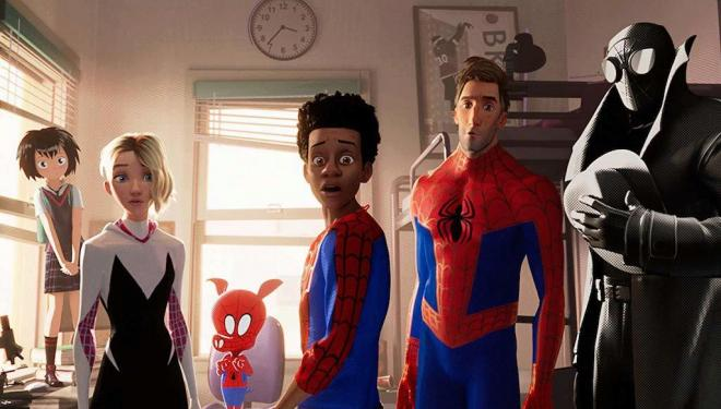 Into the Spider-Verse is populated with Spider-People from different dimensions