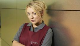 Sheridan Smith plays Sam, a cleaner who wants to cheat the system