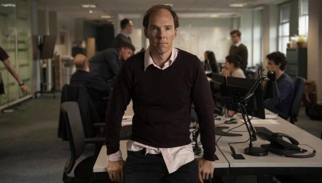 Benedict Cumberbatch as Dominic Cummings in Brexit: the Uncivil War