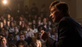 Hugh Jackman is Gary Hart in The Front Runner