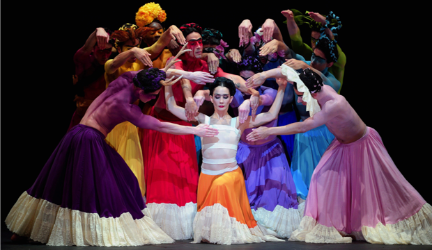 Tamara Rojo as Frida in Broken Wings by Annabelle Lopez Ochoa, photo Laurent Liotardo