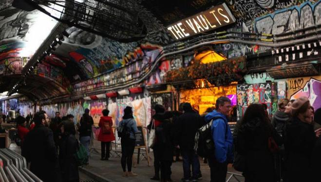 Festival events take place underground at The Vaults