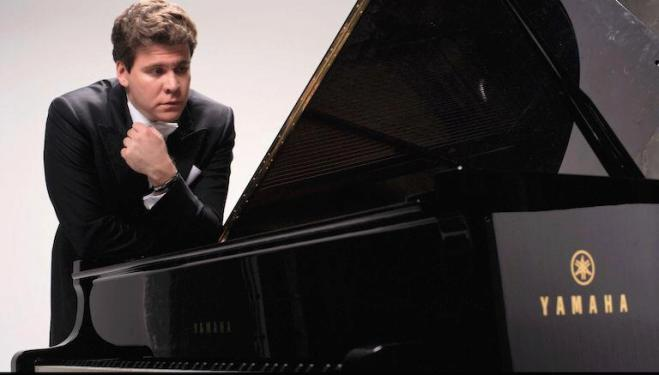 Denis Matsuev is the soloist in Prokofiev