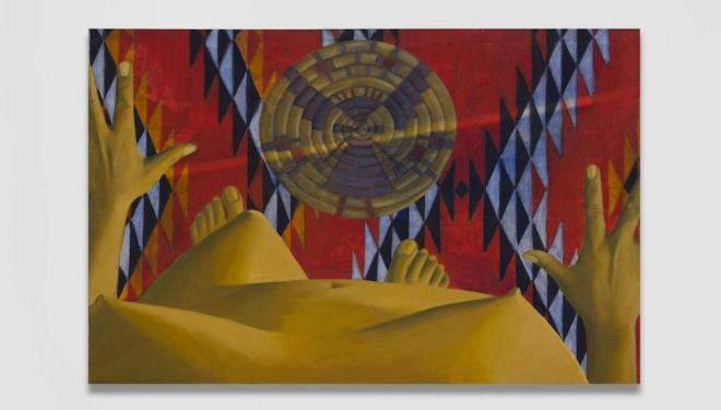 Luchita Hurtado, Untitled, 1969, Oil on canvas, Courtesy of artist, Photo Credit: Jeff McLane