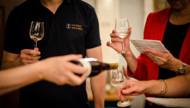 The award-winning Honest Grapes treat guests to an evening of wine tasting to remember
