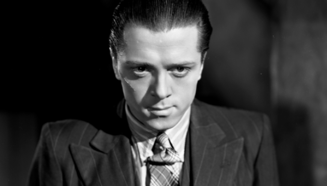 Richard Attenborough in one of his most famous roles, as Pinkie in Brighton Rock