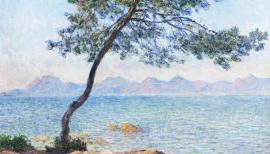Claude Monet, Tree: Antibes, 1888 © The Samuel Courtauld Trust, The Courtauld Gallery, London