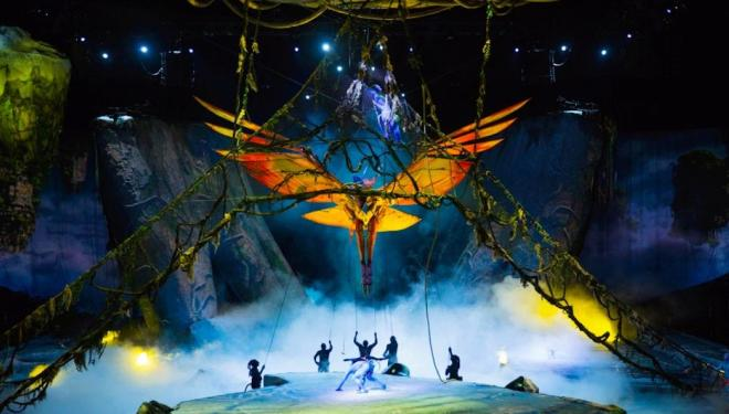Cirque du Soleil's prequel to Avatar comes to London's O2