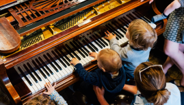 Introduce a lifelong love of music with baby concerts like Bach to Baby
