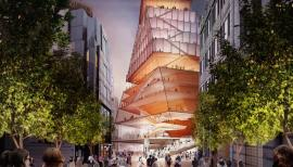The Centre for Music will spiral skywards in the heart of the City. Photo: Diller Scofidio + Renfro