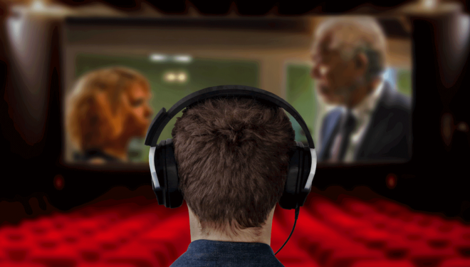 Lots of cinemas offer hearing assist headsets or audio description