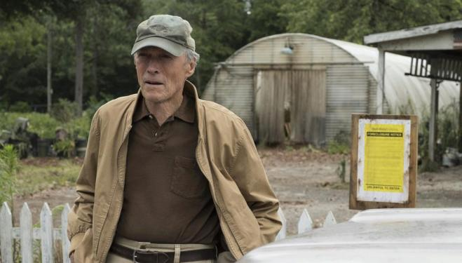 Clint Eastwood directs and stars in The Mule