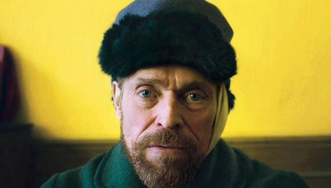 Willem Dafoe captures the dizziness of Van Gogh's final years
