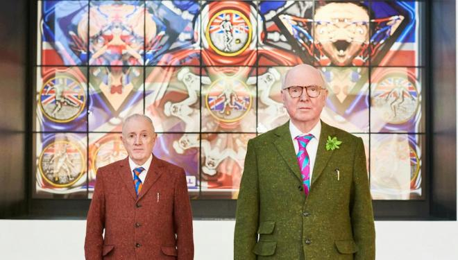 Meet maverick artist duo Gilbert & George