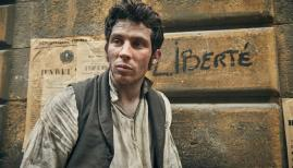 Josh O'Connor in Les Miserables