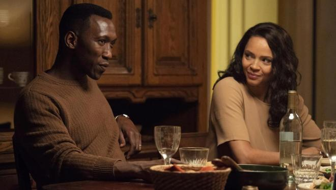 Mahershala Ali and Carmen Ejogo in True Detective