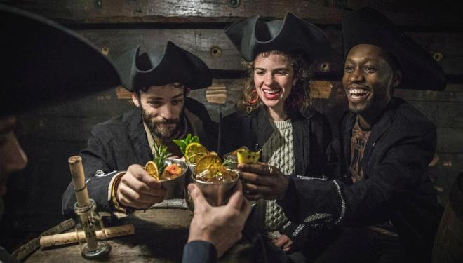 Pirates of the Hidden Spirit: immersive cocktail experience, The Golden Hinde