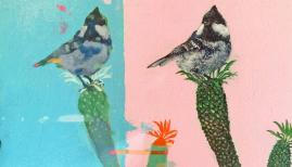 Affordable Art Fair Battersea Spring: Keng Wai Lee, Coal Tit 1, London Contemporary Art